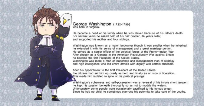 George Washington by Naka-Mikana