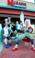 Group Naruto Cosplay - Let's scare some people!! by littlecasaroo