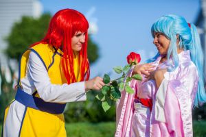 Yu Yu Hakusho: A Rose for a Peony by xYaminogamex