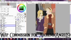 Commission: WIP PREVIEW by AnimeEmm