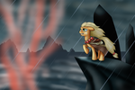 Applejack at the Maelstrom by PaintedHooves