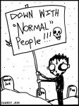 Death Boy: Normality by Dandy-Jon