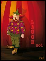 Sad clown by meb85