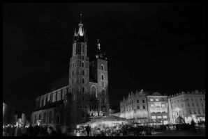 Cracow by night 9 by kazzdavore