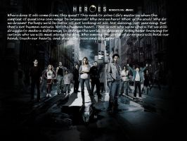 Heroes Background. by rinoa2530