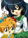 Kagome and Shippo by prittyred