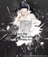 [Graphic] - Happy Minzy's day by yooyoungdory99er