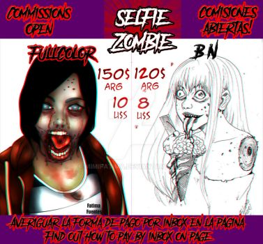 Commissions Zombie by MimiFatima