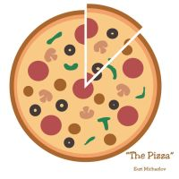 Vector Series: The Pizza by nvrexisted