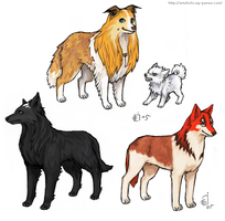 Bleach Doggies 2 by emlan