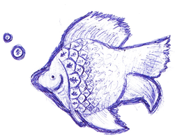 Fish Doodle by oohlalaland