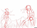 Process GIF: Out in the Grasslands by ThePhantomArts