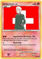 Hetalia Card: Switzerland by Demmi-chan