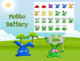 Mobbo Battery Widgets for xwidget by jimking