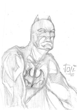 Batman Pencil by 7oti