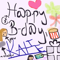 KatieKat86's Birthday card by Sugerpie56