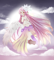 [No Game No Life] Jibril-- Fly away by Jasbrina