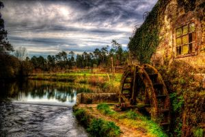 Watermill by fkefctry