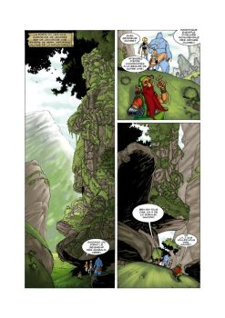 Amborie ISSUE 3 Page 5 by vrm1979COLORS