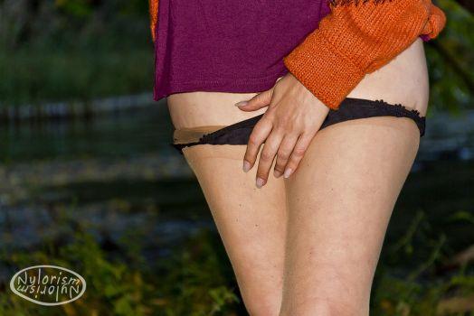 Outdoor Panty 10 by Nylorism
