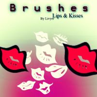 Lips and Kisses BRUSHES by livyer