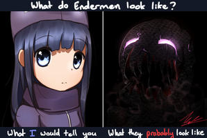 Daddy, What Do Endermen Look Like? by Vikko2