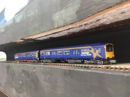 N Gauge Locomotive - North Western First by JennyRichardBlakina