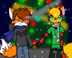 Merry Christmas -Collab- by howlowl
