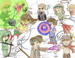 The DC MARVEL War by paintingmyheartred