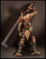 Roggen the Orc by pinafta1