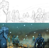 Thor page 26-27 panel 1 detail by CeeCeeLuvins