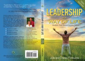 Leadership book cover by sercor