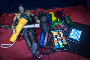 My Light Painting Tools by EmbryonicPith