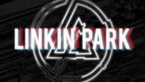 Linkin Park Blue/Red Wallpaper by IamroBot-X