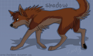 Shadow - Art Trade by HailDawn