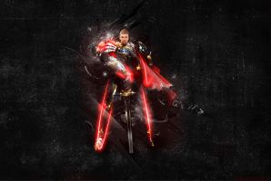 Lineage 2 Paladin reworked by clubbing-claude