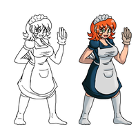 The Maid by fucubed