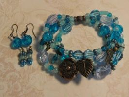 Antique Ocean Bracelet by designsbymikel