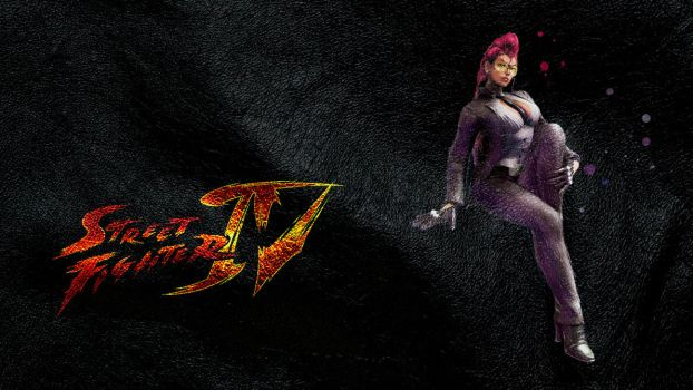 Street Fighter IV Viper wide by ManeFunction