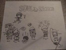 Just started Soul Eater. by ShayTheNonexistant