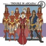 Trouble in Arcadia - concepts by thejason10