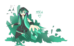 Assassin miku by scitt