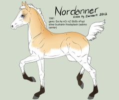 Nordanner foal 1981 for SpiritStables by Ikiuni
