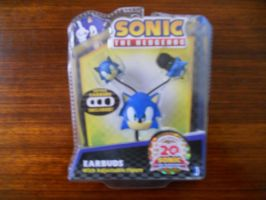 Sonic the Hedgehog Earbuds by BoomSonic514