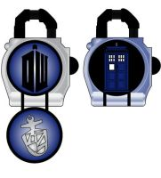 Doctor Who lockseed by Gray-Vizard