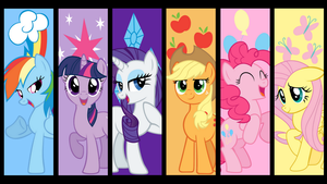 The mane 6 by neodarkwing