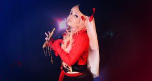 Sheryl Nome on stage! by MagicYuu