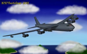 Mauler the B-52  - For Killer-Aircraft-Dude by B737TheAirliner