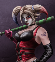 Harley Quinn by leseraphin