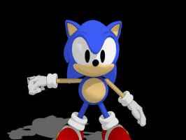 Sonic Generations Classic Sonic for MMD -Update- by Sticklover4